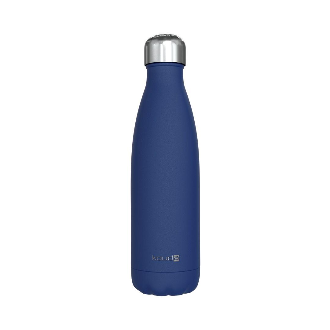Garrafa Térmica Kouda 500ml Grey - Azul Powder Coating