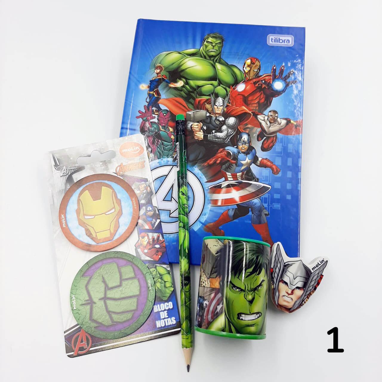 Kit Avengers - Várias Composições