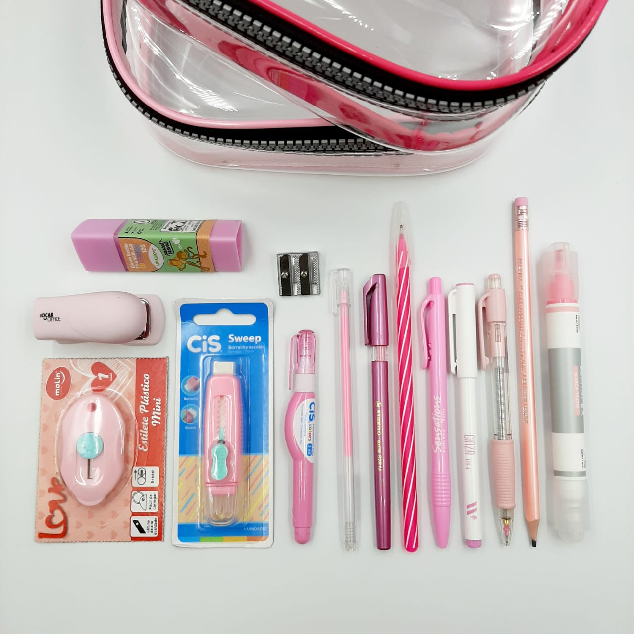 Kit Estojo Completo Pink Lover's
