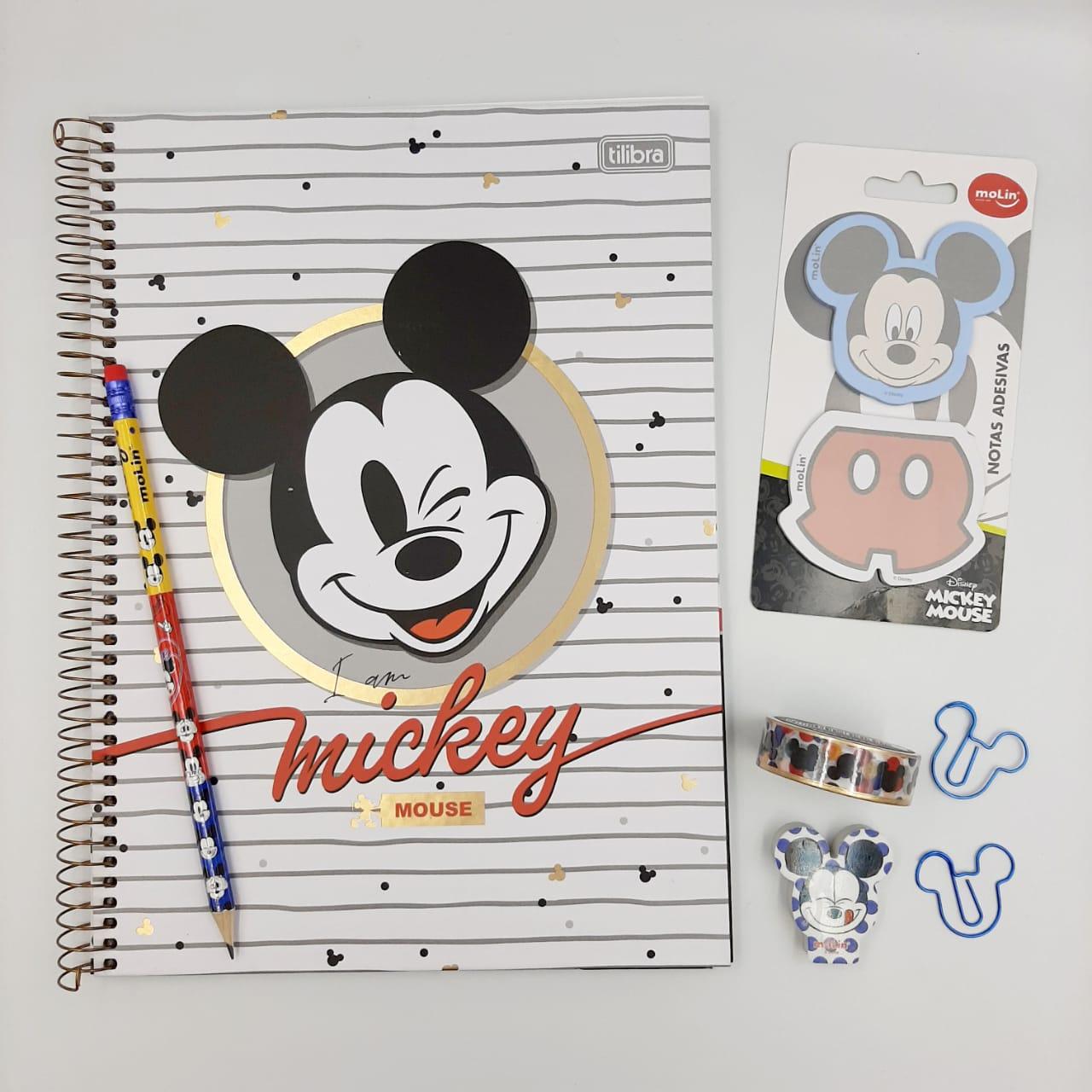 Kit Mickey Lovers 7 Itens