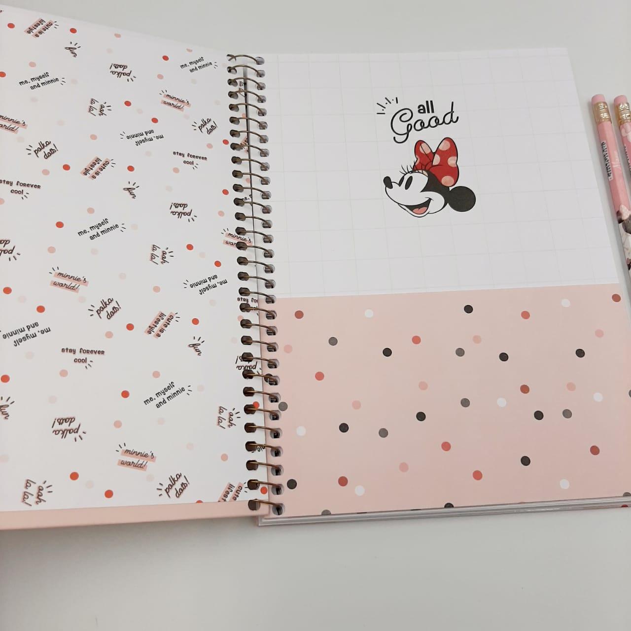Kit Minnie Lovers 7 Itens