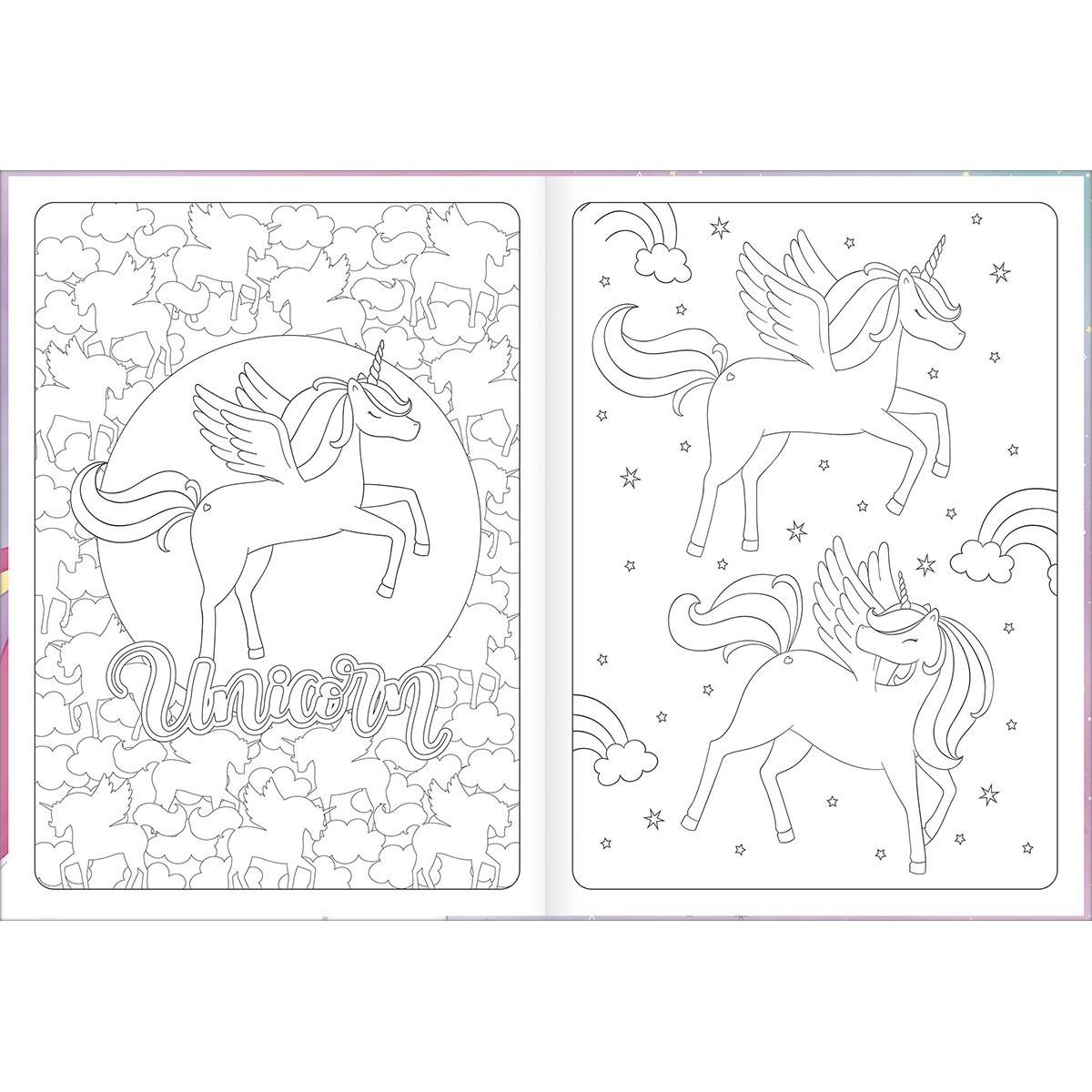 Livro de Colorir Tilibra - Vários Desenhos