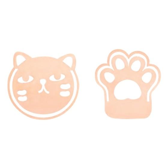 Marcador de Página Metálico Molin - Gatos Rose Gold