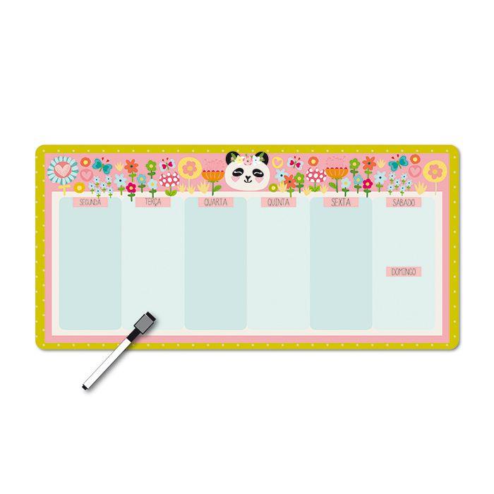 Memo Board Magnético Horizontal - Panda