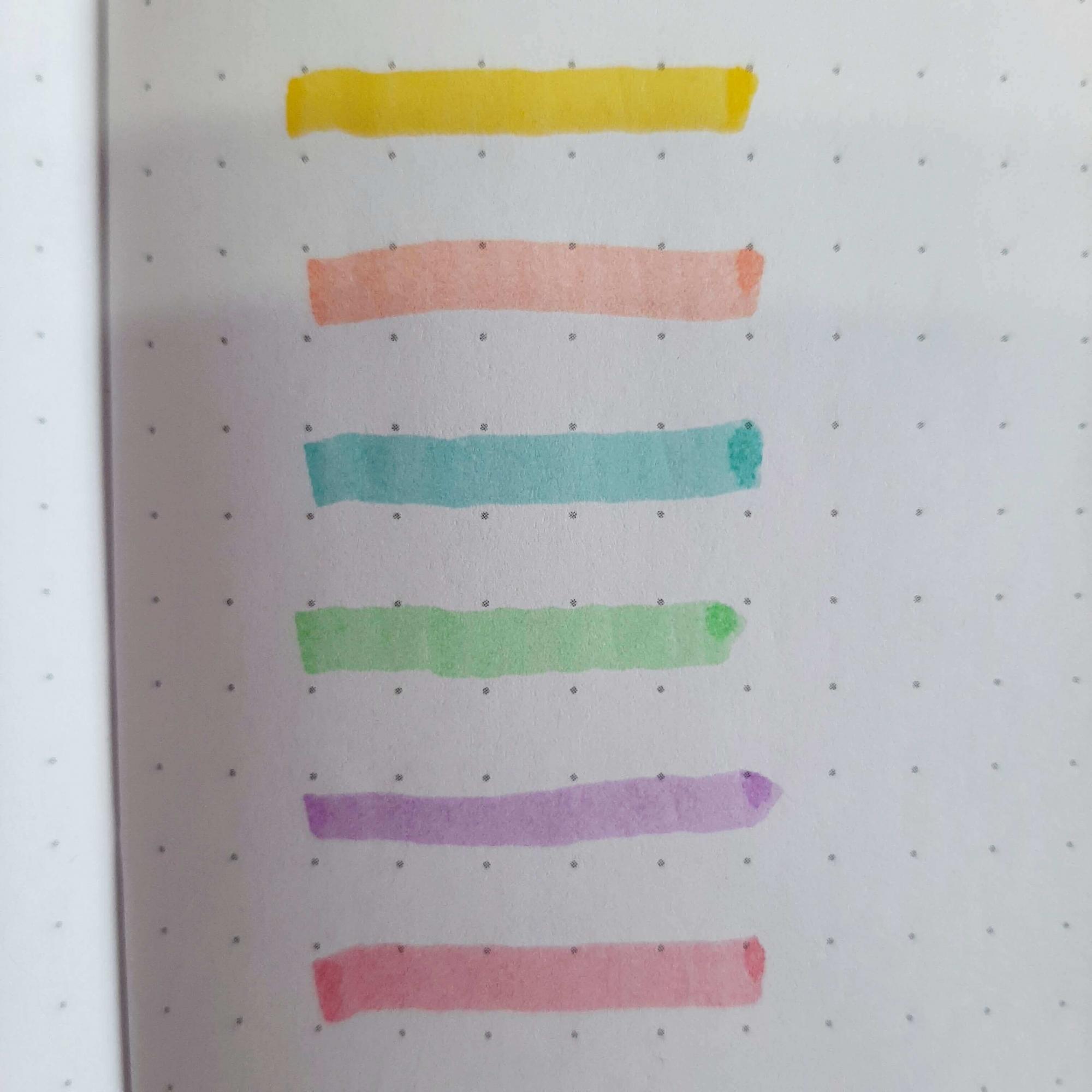 Mini Marca Texto Cis Lumini Pastel