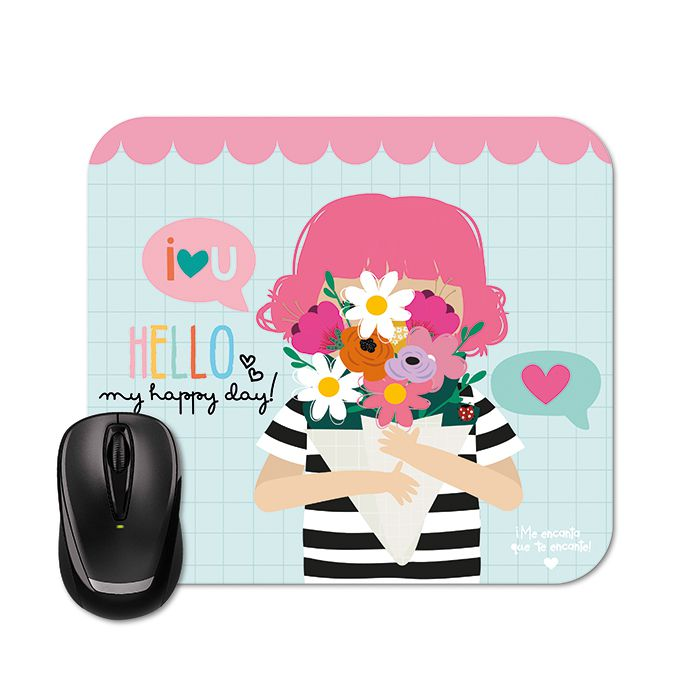 Mouse Pad - Happy Buquê
