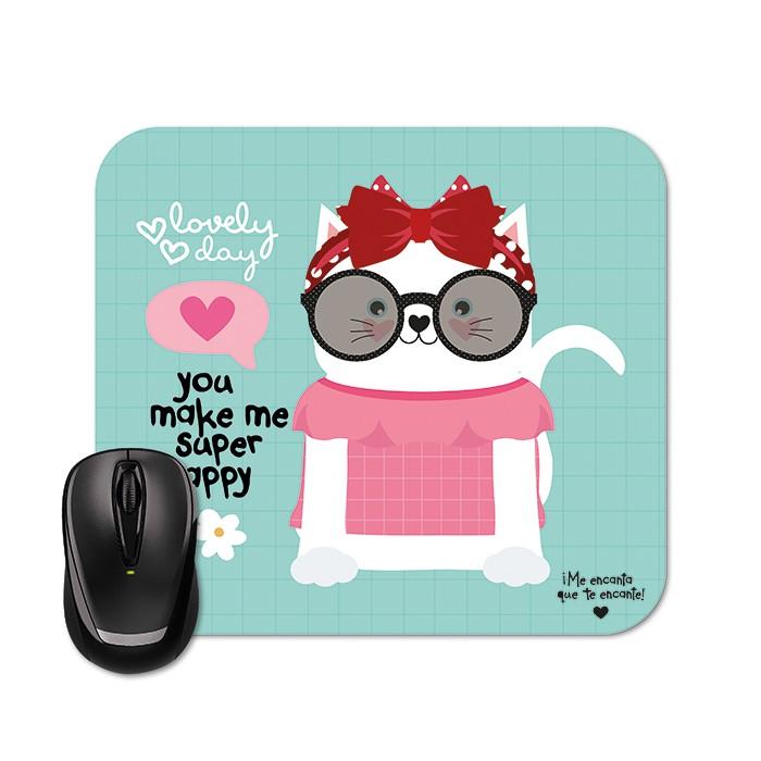 Mouse Pad - Happy Gato