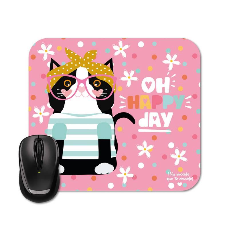 Mouse Pad - Happy Mia