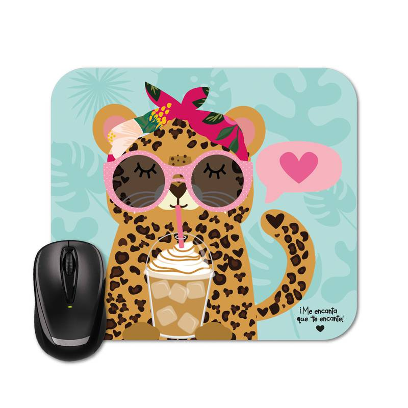 Mouse Pad - Happy Oncinha