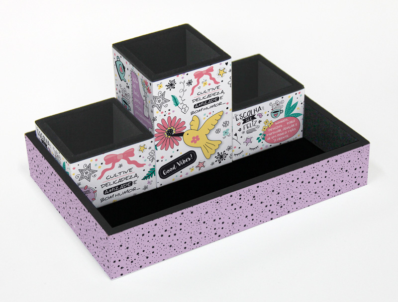 Organizador de Mesa Fina Ideia Beija Flor