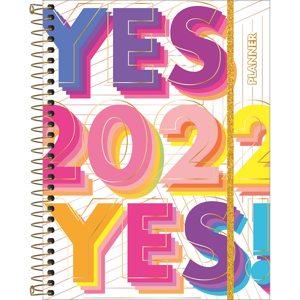Planner Espiral Be Nice 2022 Tilibra