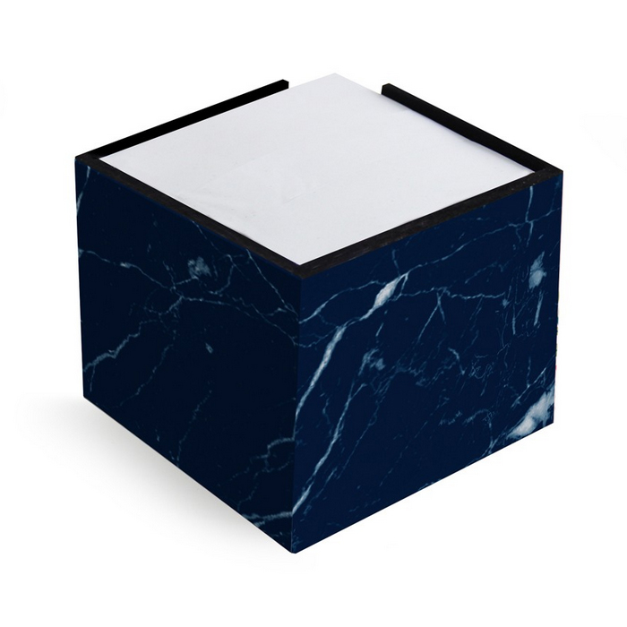 Porta-Lembrete Fina Ideia Mármore Azul