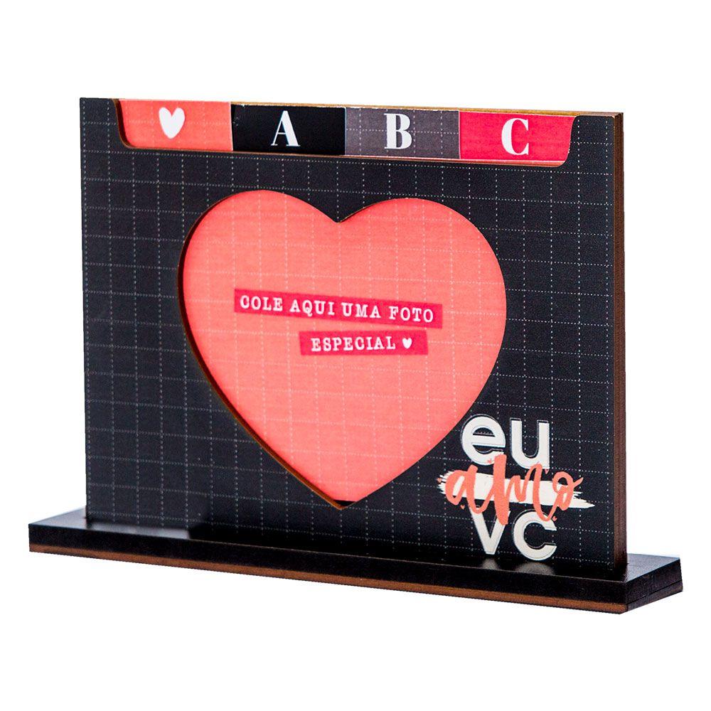 Porta retrato dicionario - eu & vc definicao de amor