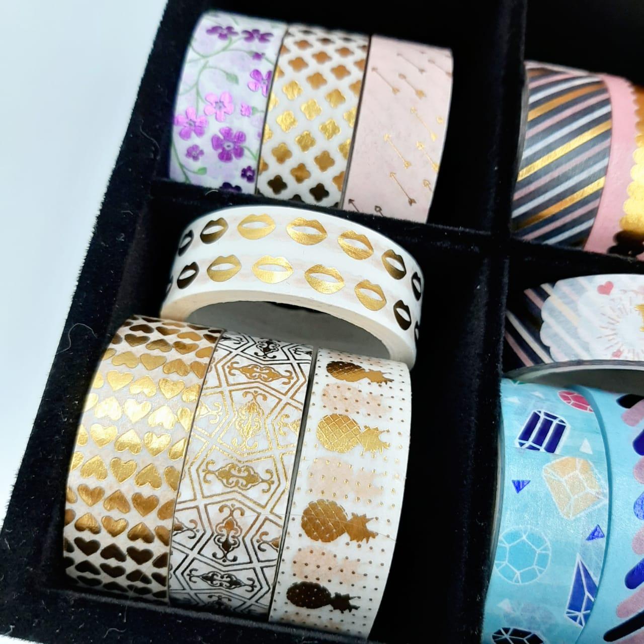 Washi Tape com Foil Molin Unitária