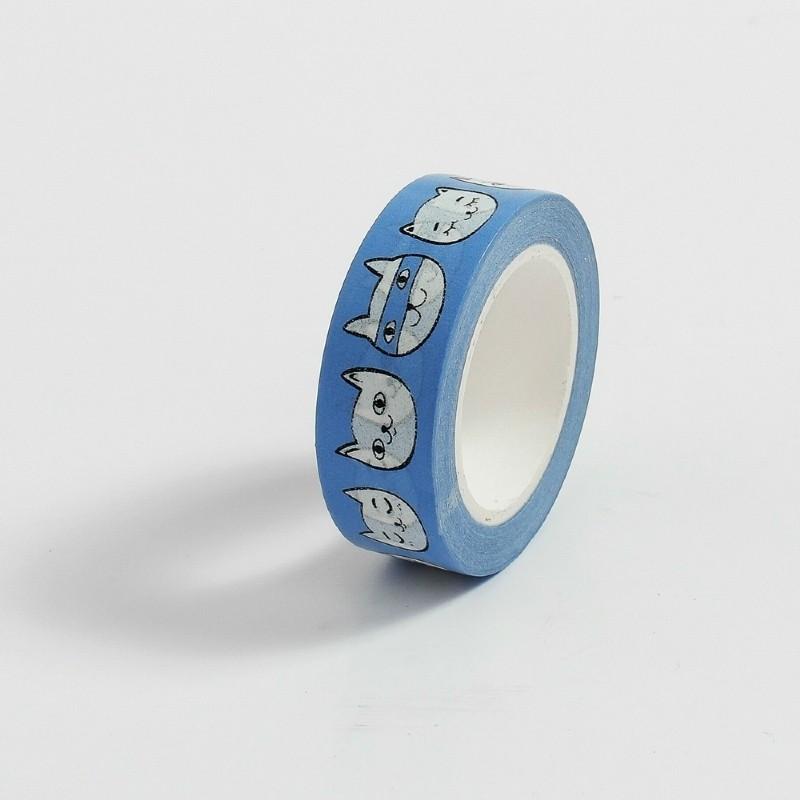 Fita Adesiva Decorativa Washi Tape - Gatinhos