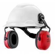 Capacete 3M H700 Branco Suspenção Ajuste Facil com Abafador Muffler