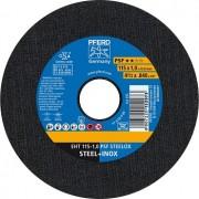 Disco de Corte para Inox PFERD EHT PSF STEELOX 115-1,0