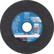 Disco de Corte para Inox PFERD EHT SG STEELOX 125-1,0
