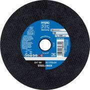 Disco de Corte para Inox PFERD EHT SG STEELOX 180-1,9