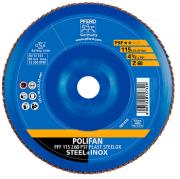 Disco Flap Pferd Polifan PSF Steelox costado de plástico 115 Grão 60