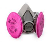 Respirador Semi facial 3M Série 6200 Com filtro 2091