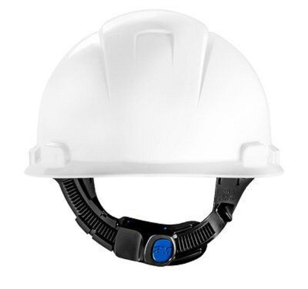 Capacete 3M H700 Branco com Suspensão De Ajuste Fácil