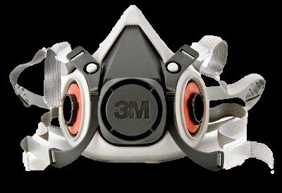 Respirador Semi facial 3M Tamanho M Série 6200