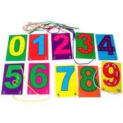 Alinhavos de Números - Brinquedo Educativo