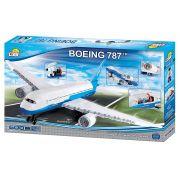 Avião Para Montar Boeing 787 - 600 Peças