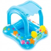 Boia Inflável Infantil Com Cobertura Baby Bote - Intex