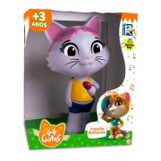 Boneca Milady Coleção 44 Gatos Buffycats Vinil - Samba-Toys