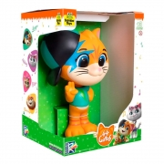 Boneco Lampo Coleção 44 Gatos Buffycats Vinil - Samba-Toys