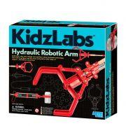 Braço Hidráulico - KidzLabs Robotic Arm - 4M