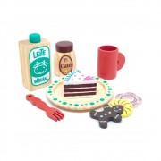 Brinquedo de Madeira Coleção Comidinha Kit Café - NewArt