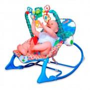 Cadeira de Balanço Bebê Floresta Rosa/Azul - Pura Diversão