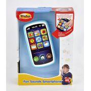 Celular de Brinquedo Com Som E Luz - Winfun