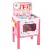 Cozinha Infantil de Madeira com Acessórios  - Tooky Toy
