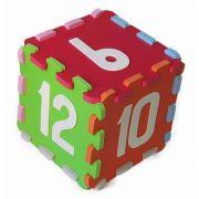 Cubo Dos Números De 07 A 12 em Eva