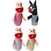 Fantoche Lobo Mau e os 3 Porquinhos