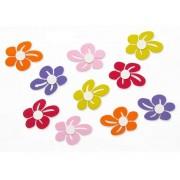 Flores Coloridas em Eva - Kit com 400 Unidades