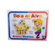 Jogo Bola Ao Alvo Cara De Pau Em Madeira - Bate Bumbo