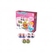 Jogo da Memória Princesas em Madeira 40 Peças - Algazarra Brinquedos
