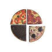 Jogo da Pizza de Frações