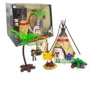 Kit Cenario Tribo Indigena