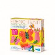 Kit de Tricô Francês - Borboleta