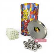 Magstix Fosforecente kit com 38 Peças - Brinquedo Magnético - Magnetech