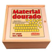 Material Dourado de Madeira 611 peças - Carimbras