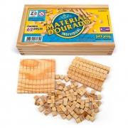 Material Dourado Individual em Madeira 62 Peças - Jott Play