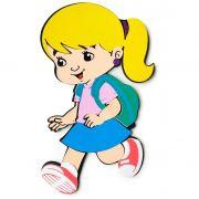 Menina Estudante Loira de EVA