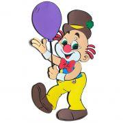 Palhaço com Balão Em Eva